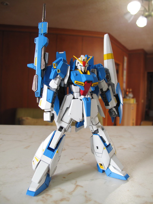HGUC Z Gundam (U.C.0088) – 一天到晚作模型的MS翰