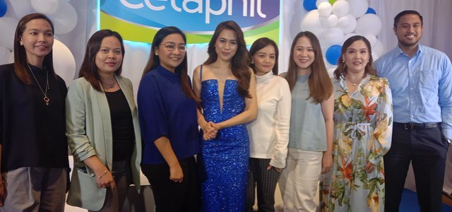 Cetaphil launch with Toni Gonzaga