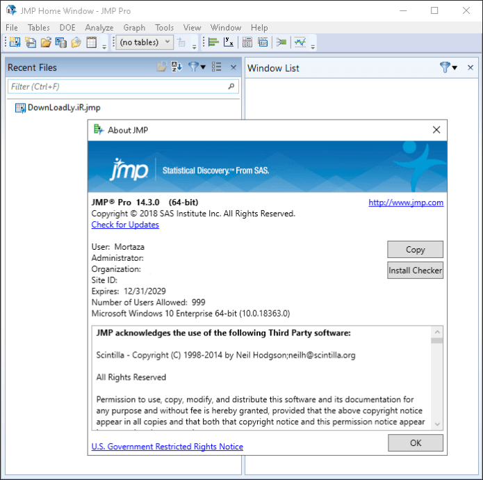 Working with SAS JMP Statistical Discovery Pro 14.3 full