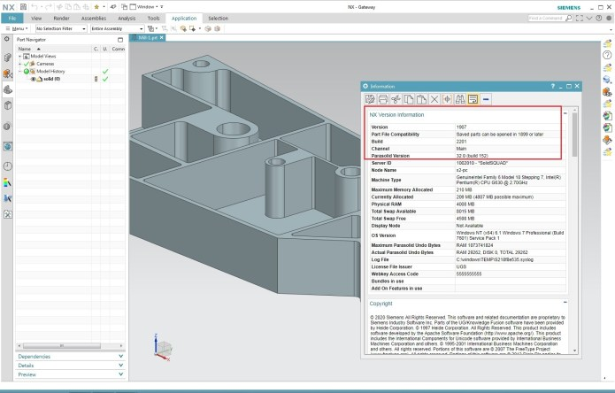 Design with Siemens NX 1907 Build 2201 full license