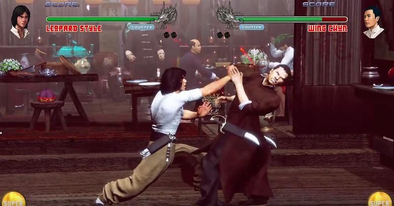 少林寺対ウタン2-ing春vsヒョウスタイル