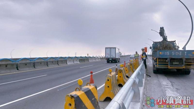高屏大橋,公路局,移動式測速照相,