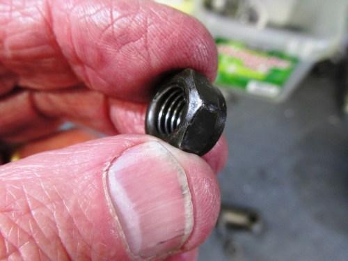 Cylinder Stud Nut-Outside Face