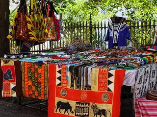 Street seller - Company gardens