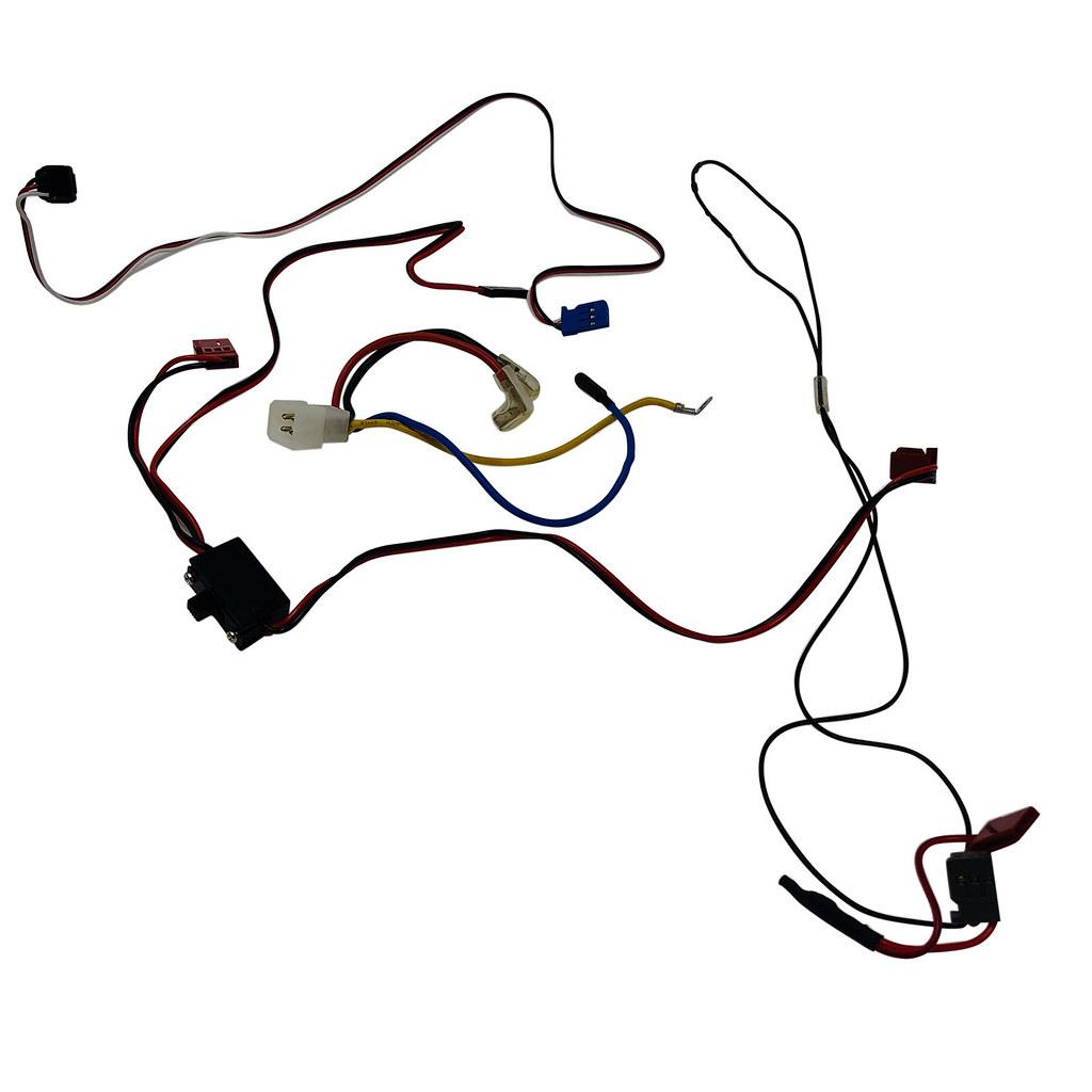 Traxxas Jato 3.3 Wiring Harness 3038 4583 Sensors 6522