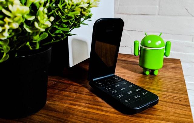 My Nokia 2720 Flip Phone