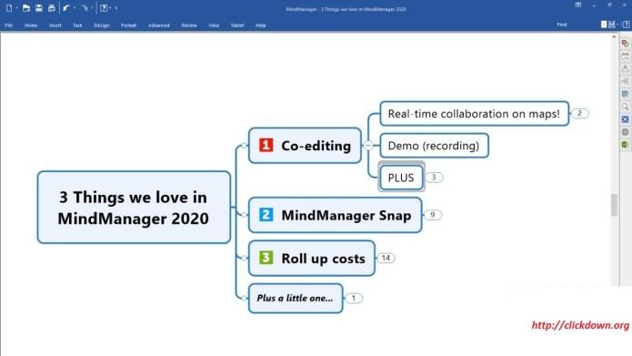 Working with Mindjet MindManager 2020 v20.1.234 Final full license
