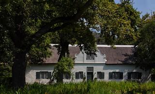 House on Grande Provence Wine Farm