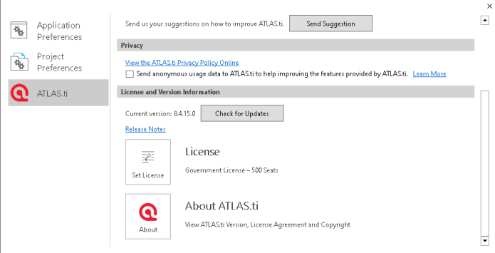 Working with ATLAS.ti 8.4.24 full license forever