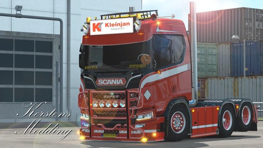 Kleinjan Scania R650