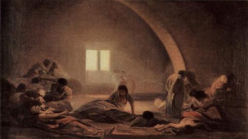 Hospital de apestados Francisco de Goya Uti 485