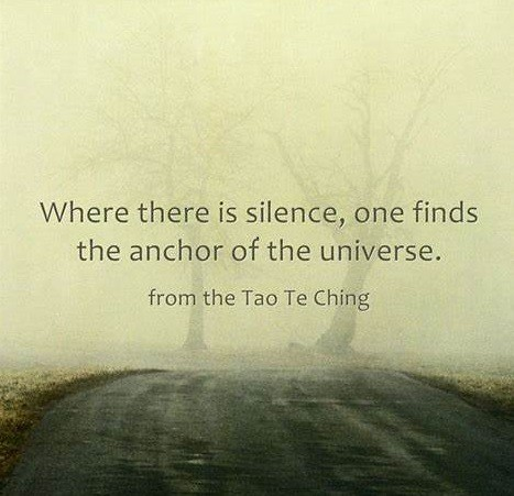 tao te ching silence as anchor