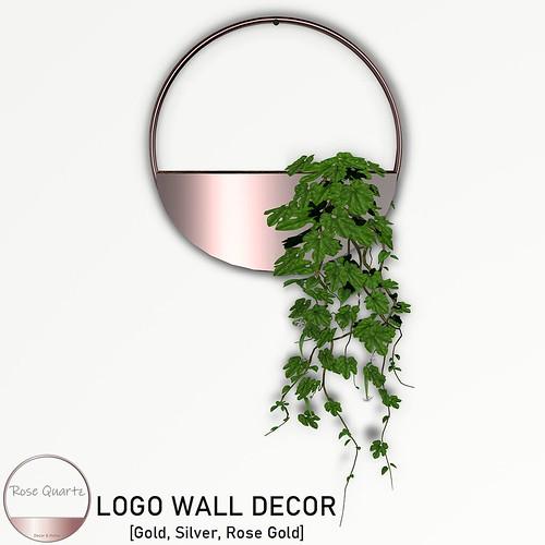 [Rose Quartz] - Logo wall Decor [GIFT]