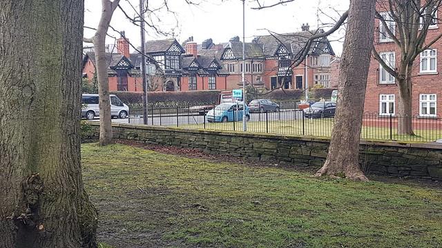 Social Distancing in Victoria Park
