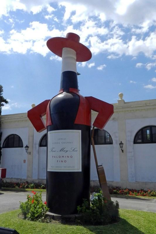 botella Tio Pepe Bodegas Gonzalez Byass Jerez de la Frontera Cadiz 03