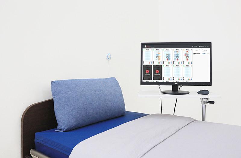 WhizPad天才床墊搭配安心臥照護系統