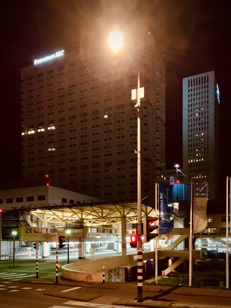 Rotterdam Daily Photo: Silent hospital