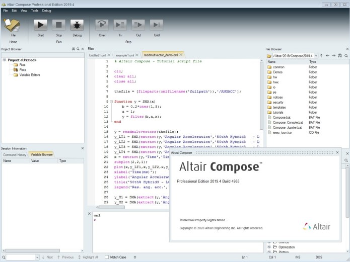 Working with Altair Compose 2019.4 full license