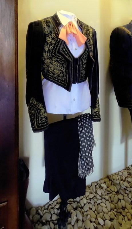 vestido de jinete Sala del Traje Museo del Enganche Jerez de la Frontera Cadiz 01