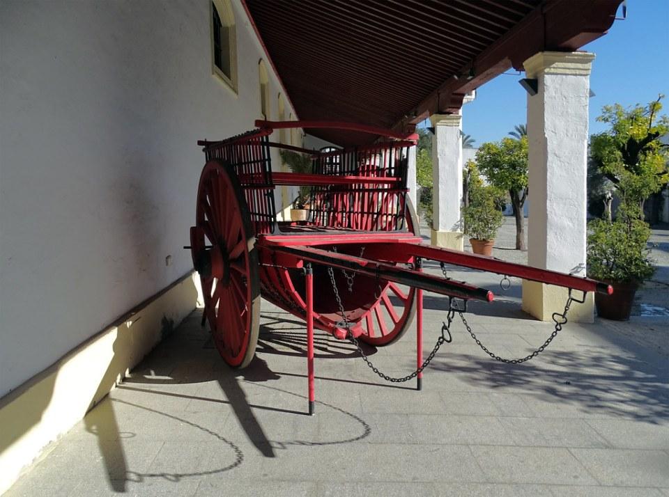 cuadras carruaje de caballos Museo del Enganche Jerez de la Frontera Cadiz 01
