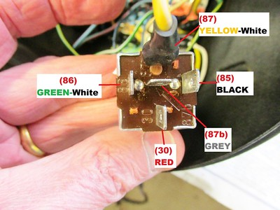 Headlight Relay Wires