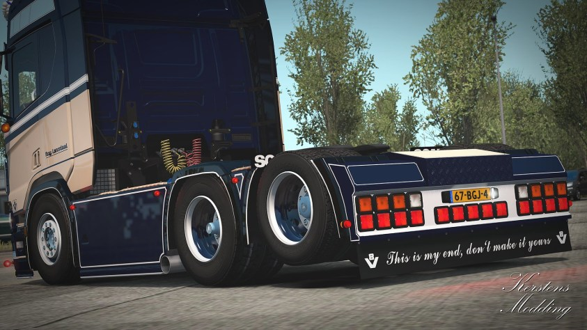 Rear bumper next gen ets2