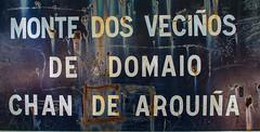 Dolmen de Chan da Arquiña, Domaio, Moaña