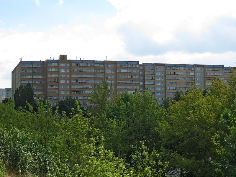 IMG_4347 Ost Berlin, Plattenbau