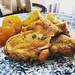 Tajín de pollo al limón con aceitunas