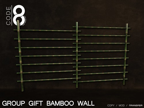 Group gift Bamboo Wall
