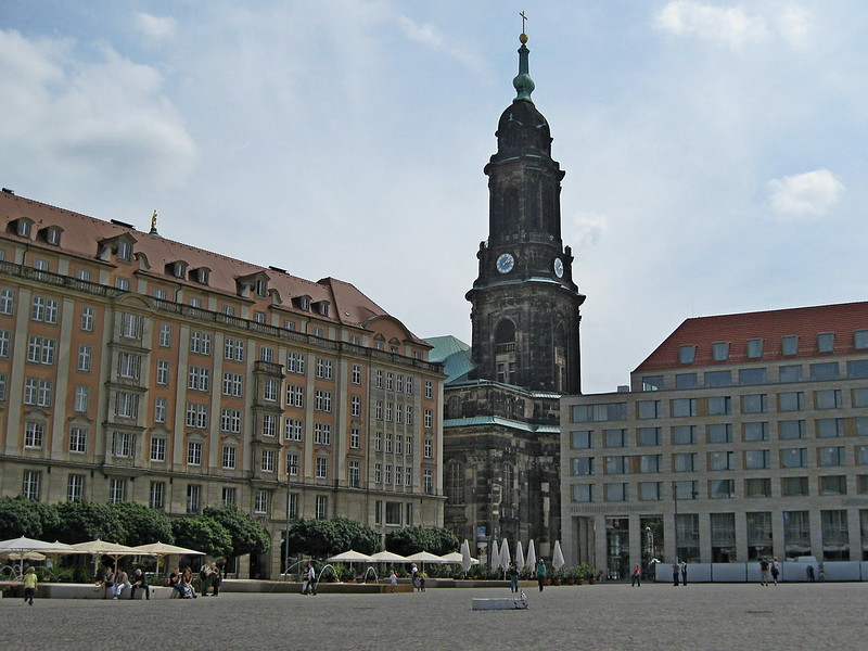 IMG_4627 Dresden, Altstadtmarkt und Kreuzkirche