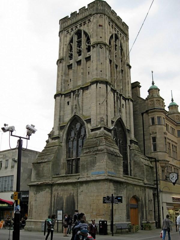 IMG_2919 Gloucester, St. Michael's Tower at Gloucester Cross