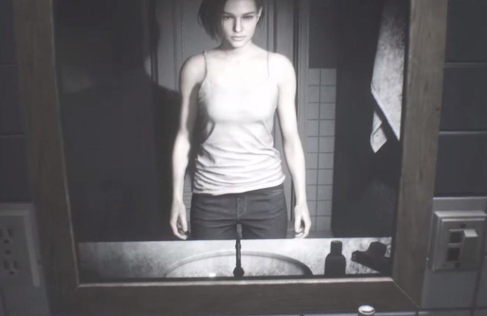 Resident Evil 3 Remake - Jill Badezimmer