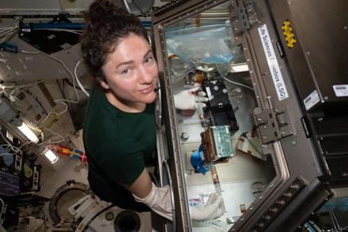 NASA astronaut Jessica Meir conducts cardiac research
