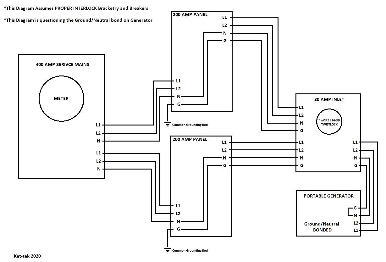 15+ 200 Automatic Generator Transfer Switch Wiring Diagram