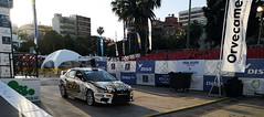 automovil participante Rally Islas Canarias 2019 salida desde Parque Santa Catalina Las Palmas de Gran Canaria 05