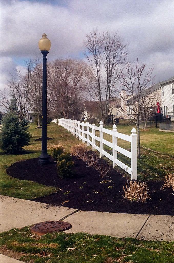 Foreshortened fence