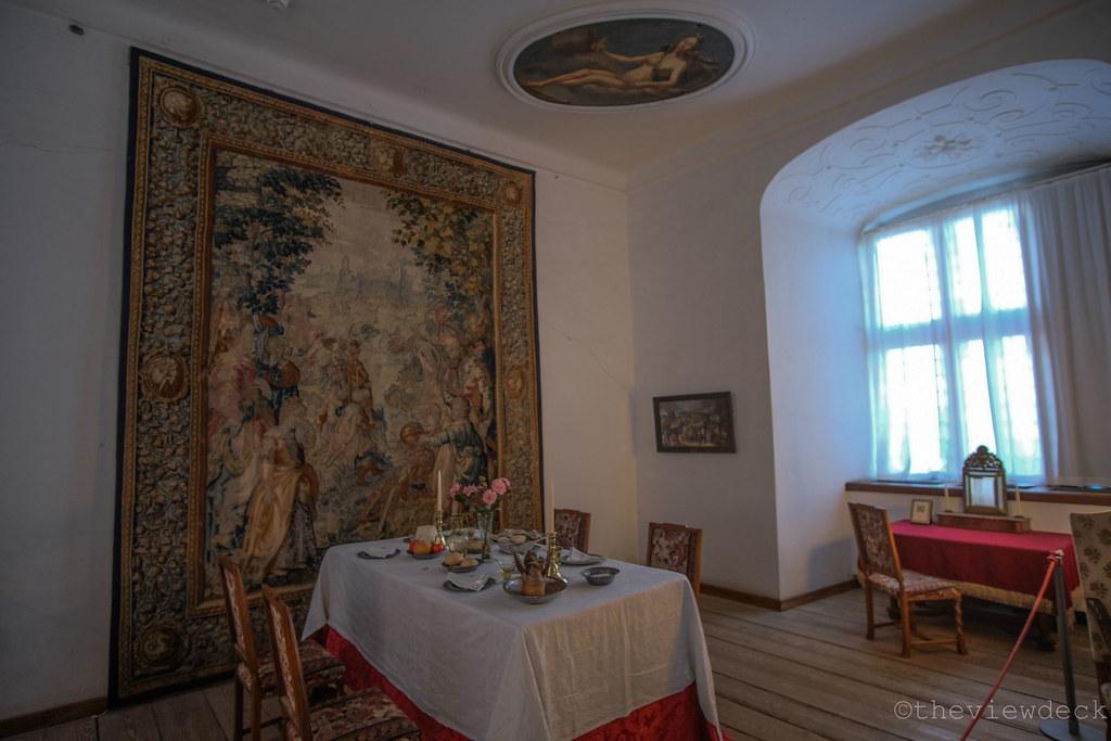 Interiors of Kronborg Castle