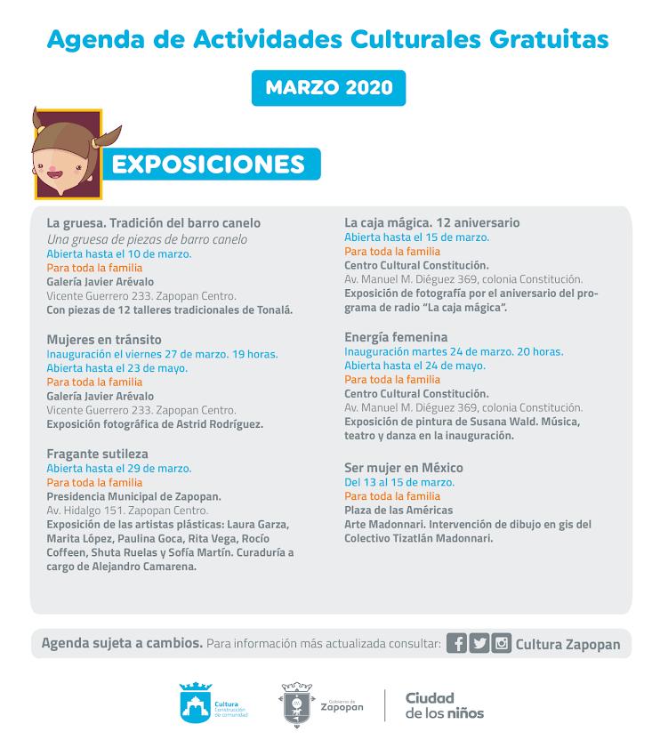 Agenda de marzo 2020-06