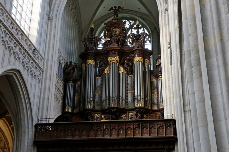 IMG_0309  Antwerpen kathedraal Schyven Orgel
