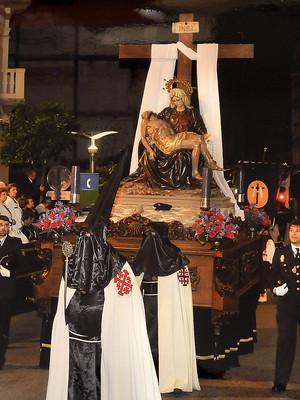 Virgen de las Angustias (Viernes Santo 2014)
