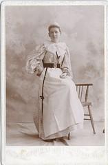 Nellie Dinsmore - Nurse - c.1895