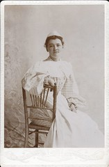 Harriett Wright - Nurse - c. 1895