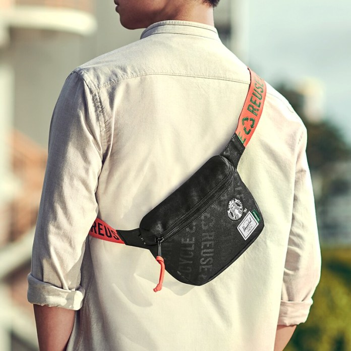 STARBUCKS® X Herschel Supply Co. Fifteen Hip Pack (2)