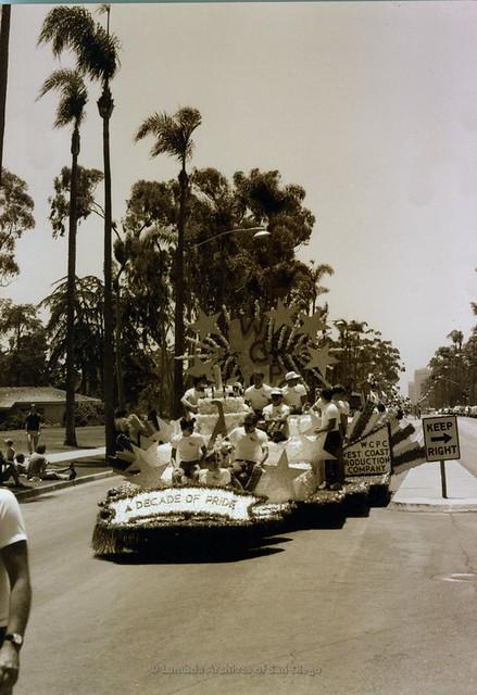 San Diego Pride Parade, 1984
