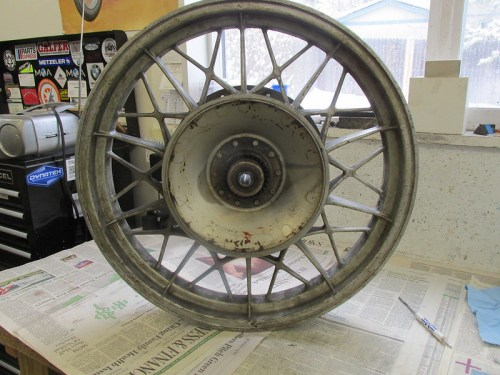 Rear Wheel Right Side