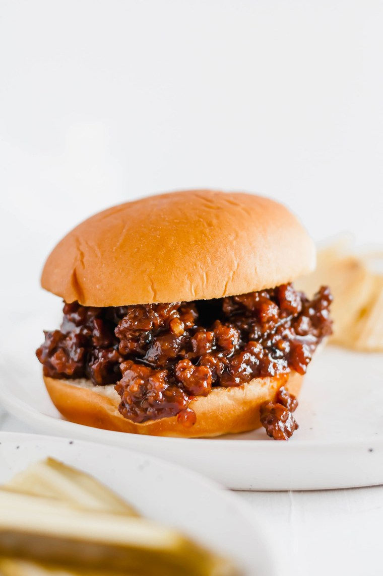 Sweet Chili BBQ Sloppy Joes are the perfect easy dinner any night of the week. They are packed full of flavor and done in 30 minutes.