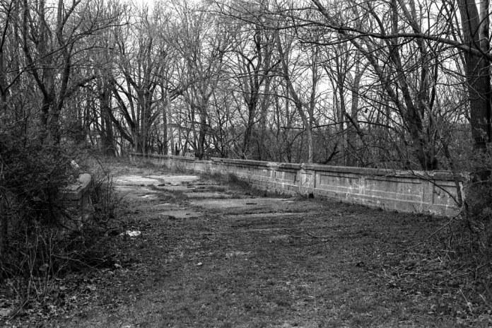 Abadoned US 40 bridge
