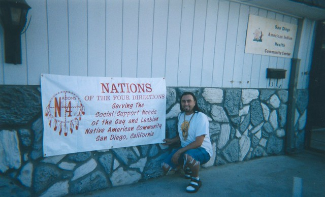 Nations of the Four Directions Banner, North Park American Indian Health Center