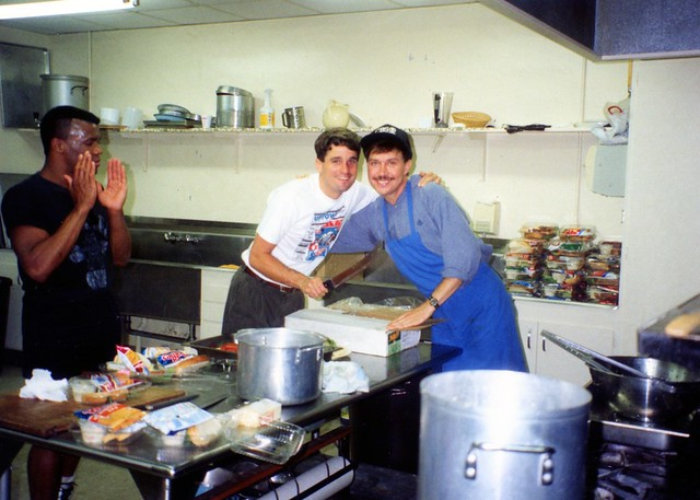 Volunteers at Mama's Kitchen, 1991
